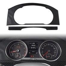Auto Innen Dashboard Panel Trim Abdeckung Für Volkswagen VW Golf 7 GTI MK7 2014-2019 Carbon Fiber ABS Schmücken auto Zubehör