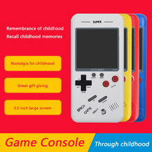 Players Game-Console Gaming Retro Handheld Mini Portable Square Russia Gifts Adults Kids