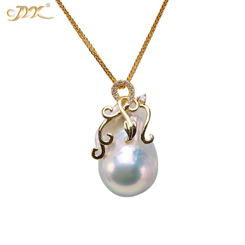 "Pretty Genuine Pink Natural Akoya Cultured Biwa Pearl Pendant Necklace 17/"""