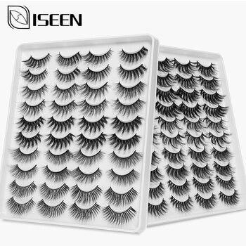 5/8/20 Pairs 3D Mink Hair False Eyelashes Handmade Natural/Thick Long Eye 8D Lashes Wispy Makeup Extension Tools 1