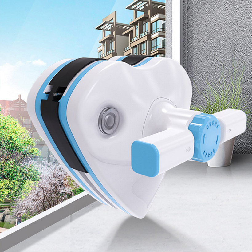 Magnetic window cleaner Home Window Wiper Glass Cleaner Tool Double Side Adjustable Magnetic Brush Glass Brush Cleaning Tools