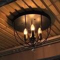 Американский стиль промышленный ветер потолочный светильник проходной por простой Ресторан Кафе проход бар спальня балкон Железный Лофт ла...