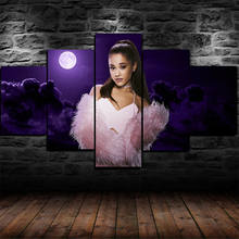 5Pcs Ariana Grande Modular Posters HD Prints Canvas Wall Art Pictures Decoration Living Room Accessories Home Decor Paintings