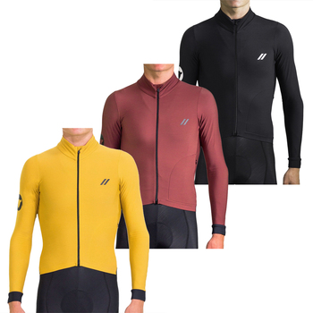 Ropa de Ciclismo de oveja negra para hombre, jersey térmico y polar...