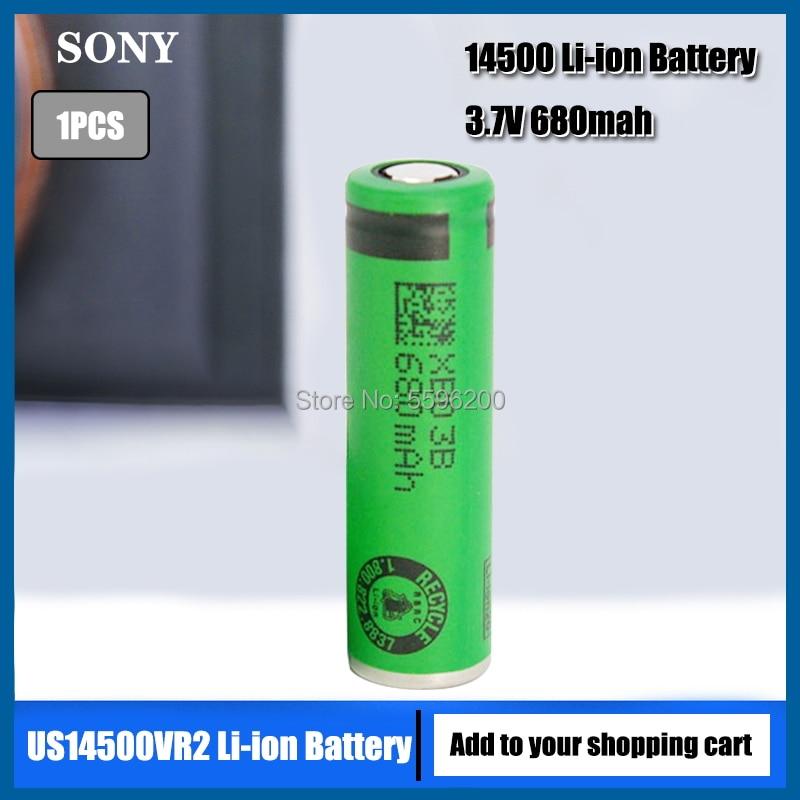 1 шт. оригинальные электрические зубные щетки и электрические бритвы Sony 3,7 в US14500VR2 14500 680 мАч