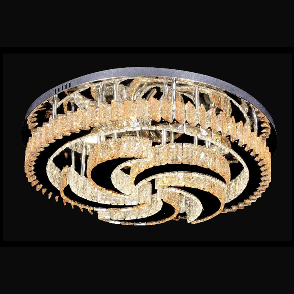 Modern Crystal Chandeliers Home Lighting lustres de cristal Decoration Luxury Candle Chandelier Pendants Living Room Indoor Lamp - 2