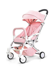 Travel Stroller Lightweight Baby-Carriage Folding Plane Lie Or 8-Gifts Can-Sit