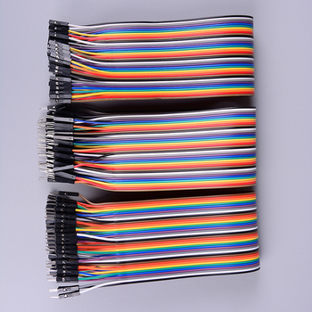 Wysokiej jakości 40Pin 30cm kabel mostkujący dupont linia dupont dla arduino F F F M M M tanie i dobre opinie CN (pochodzenie) Dupont jumper Cable