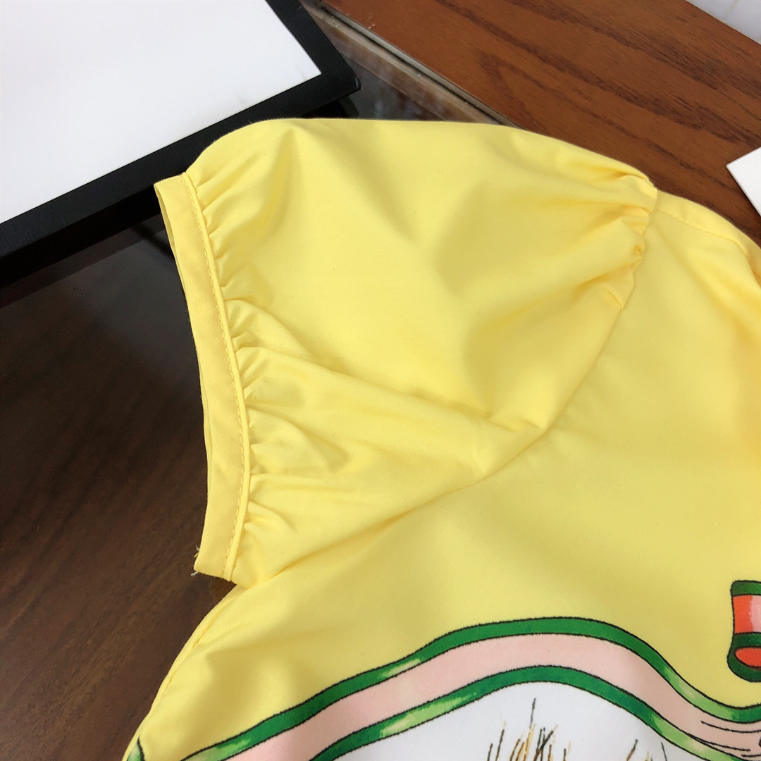high end roupas infantis ternos camisas para meninas 04