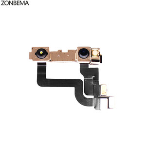 Image 4 - ZONBEMA 10 قطعة/الوحدة 100% اختبار العمل الجبهة كاميرا فيس تايم مع القرب الاستشعار فليكس كابل ل آيفون X XR XS ماكس 7 8 زائد