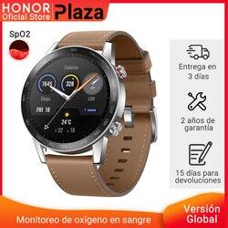 En Stock versión global Honor reloj mágico 2 reloj inteligente Bluetooth 5,1 Smartwatch 14 días impermeable de los deportes
