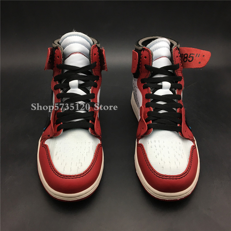 Off OW White X Men Air 1 High OG Chicago AA3834-101 1s I Women Basketball Sports Retro Sneakers Best Quality