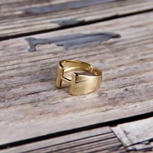 Японские кольца из стерлингового серебра S925 пробы с надписью H 18K Gold INS, простые женские кольца с холодным ветром, элегантные вечерние кольца ...