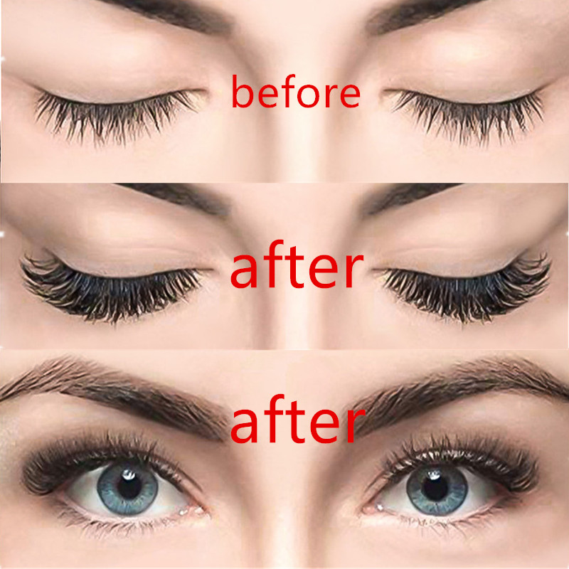 3D Magnetic eyelashes With makeup  4