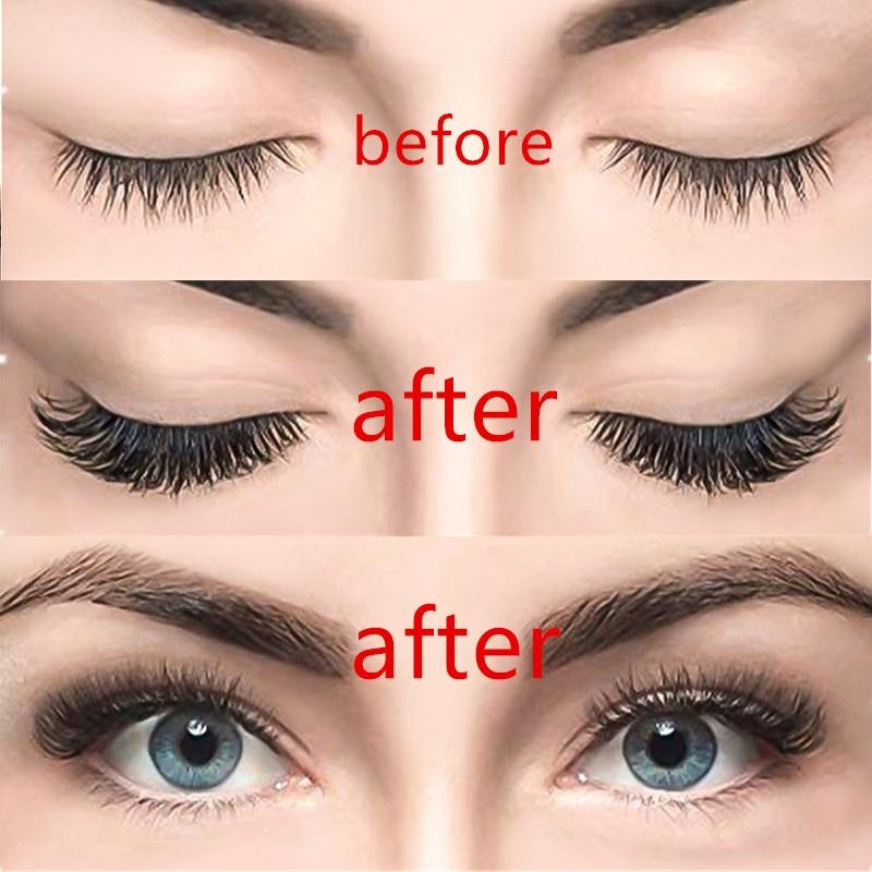 3D magnetic eyelashes With 3/4 Magnets handmade makeup Mink eyelashes extended false eyelashes Reusable false eyelashes Dropship 4