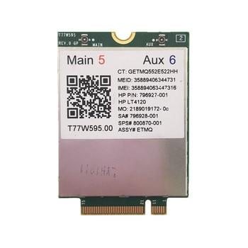 LT4120 Snapdragon X5 LTE T77W595 4G WWAN M2 модуль для HP Probook/EliteBook 820 840 850 745 G3 быстрее, чем ME906E