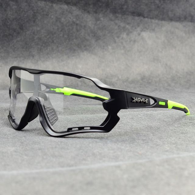 Óculos fotocrômico esportivo de marca, óculos de sol mtb bicicleta de montanha lente para ciclismo ao ar livre 2