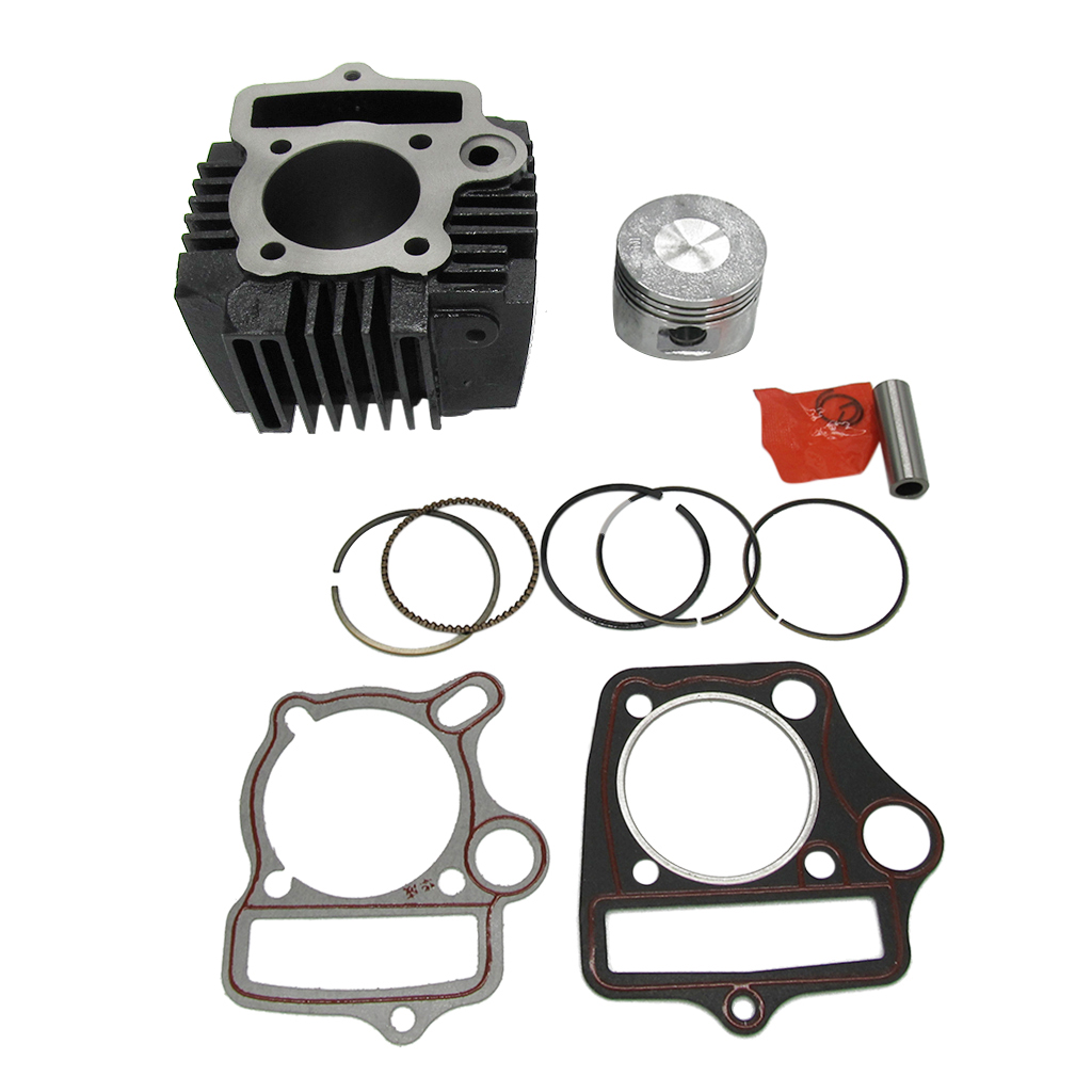 Kit de joint de Piston de cylindre de grand alésage de 52mm pour le vélo de saleté de moto 110CC ATV