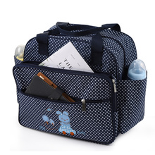Baby Diaper Bag Fashion Maternity Bags Shoulder Handbag for Baby Nappy Changing with Diaper Pad Outdoor Nursing Stroller Bolsa baby diaper bags nappy mummy stroller maternity multifunctional bolsa maternidade handbag shoulder messenger bags 6 piece set