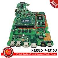 Für I7 4510U X555LD Laptop motherboard ASUS X555LA X555LD X555LF X555LJ X555L X555 mainboard|Placa-mãe para notebook|   -