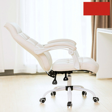 Home computer chair office chair modern minimalist fashion can lift the backrest rotating chair comfortable stool luxurious and comfortable office chair at the boss computer chair flat multifunction chair capable of rotating and lifting