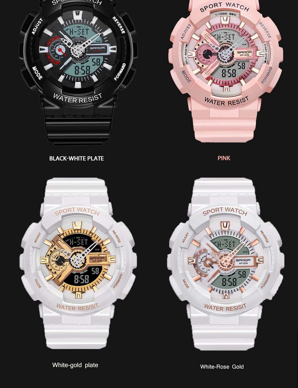 Hd072e4558b41492b83bbaf8df005b004g 2020 SANDA Military Men's Watch Brand Luxury Waterproof Sport Wristwatch Fashion Quartz Clock Couple Watch relogio masculino