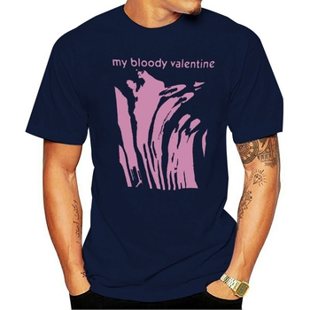 Camiseta 2021 t-shirt cotton vintage meu bloody valentine slowdive mbv jesus mary chain reprint image