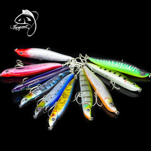 Fargiant Minnow Pencil Fishing Lure Jigging Wobblers Artificial Hard Bait Fishing Tackle Fishing Accessories Saltwater Lures 1pcs lure for fishing metal pencil 8cm 13 6g jigging wobblers winter fishing all goods for fish lures artificial bait luminous