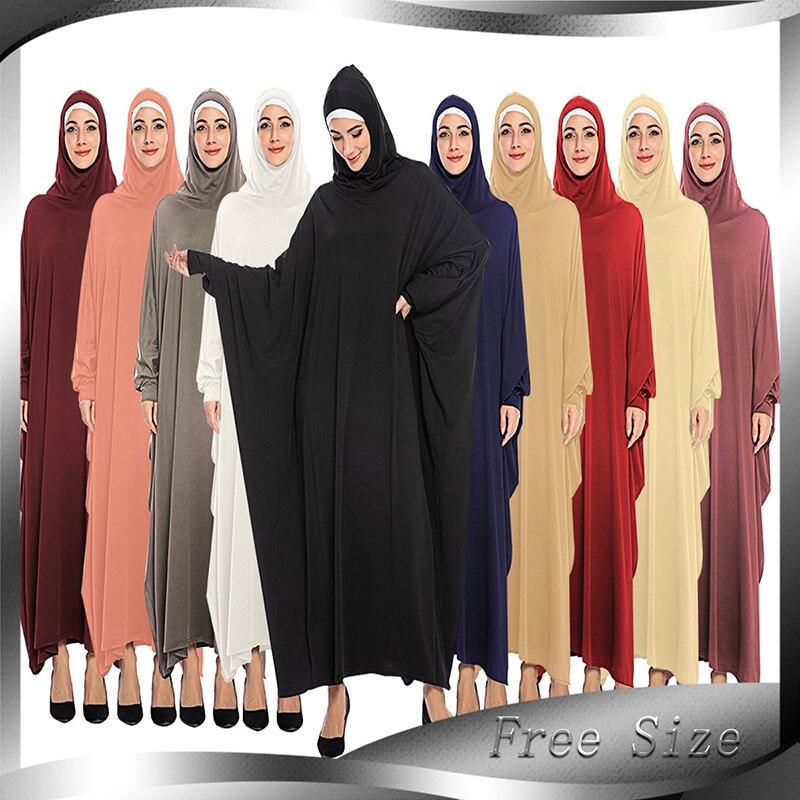 Djelaba Femme Kaftan Abaya Dubai Turkey Long Sleeve Hijab Muslim Dress Turkish Islamic Clothing Abayas For Women Caftan Marocain