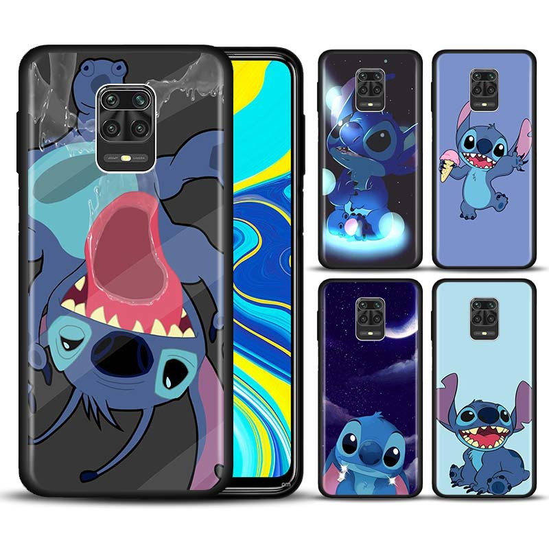 Fashion cute cartoon Stitch <font><b>Phone</b></font> Case for Xiaomi <font><b>Redmi</b></font> Note 7 8 8T 9S Note 8 9 Pro <font><b>Redmi</b></font> 6A <font><b>7A</b></font> 8A K20 K30 Pro Silicone <font><b>Cover</b></font> image
