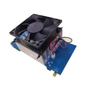 Image 4 - 50W PLL FM Estéreo Transmissor 87.5 M 108 MHz Máximo até 70W LED Digital Portátil de Rádio estação com Ventilador Do Dissipador H4 002