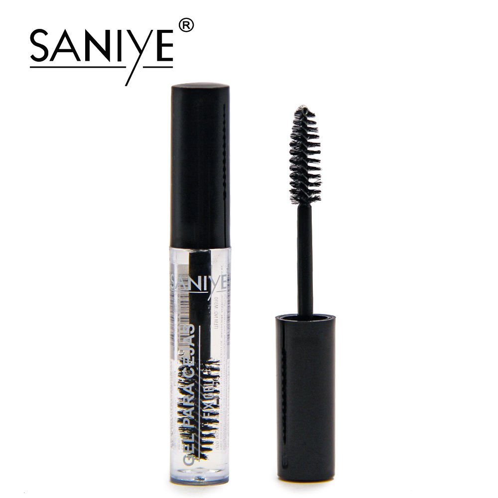SANIYE Cosmetics Clear Eyebrow Gel Waterproof Transparent Eyebrow Fixed Gel Long Lasting Eyebrow Makeup Gel Para Cejas 2