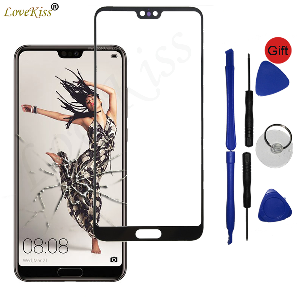 Front Panel For Huawei P20 Pro Plus P20Pro Touch Screen Sensor LCD Display Digitizer Glass Cover P20 Pro Touchscreen Replacement