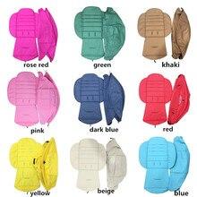 Têxtil para yoya 175 babyyoya carrinho de sol proteger protetor cobertura do dossel almofada para babythrone acessórios cadeira de rodas