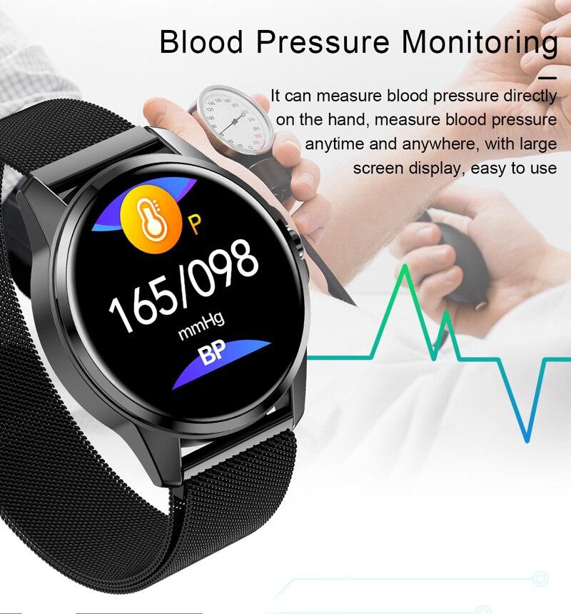 Relógio inteligente r23 toque pulseira à prova