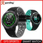 GPS sport montre intelligente bluetooth smartwatch hommes femmes activité de fitness traqueur de fréquence cardiaque étanche smartwatch android iOS M6C - 1