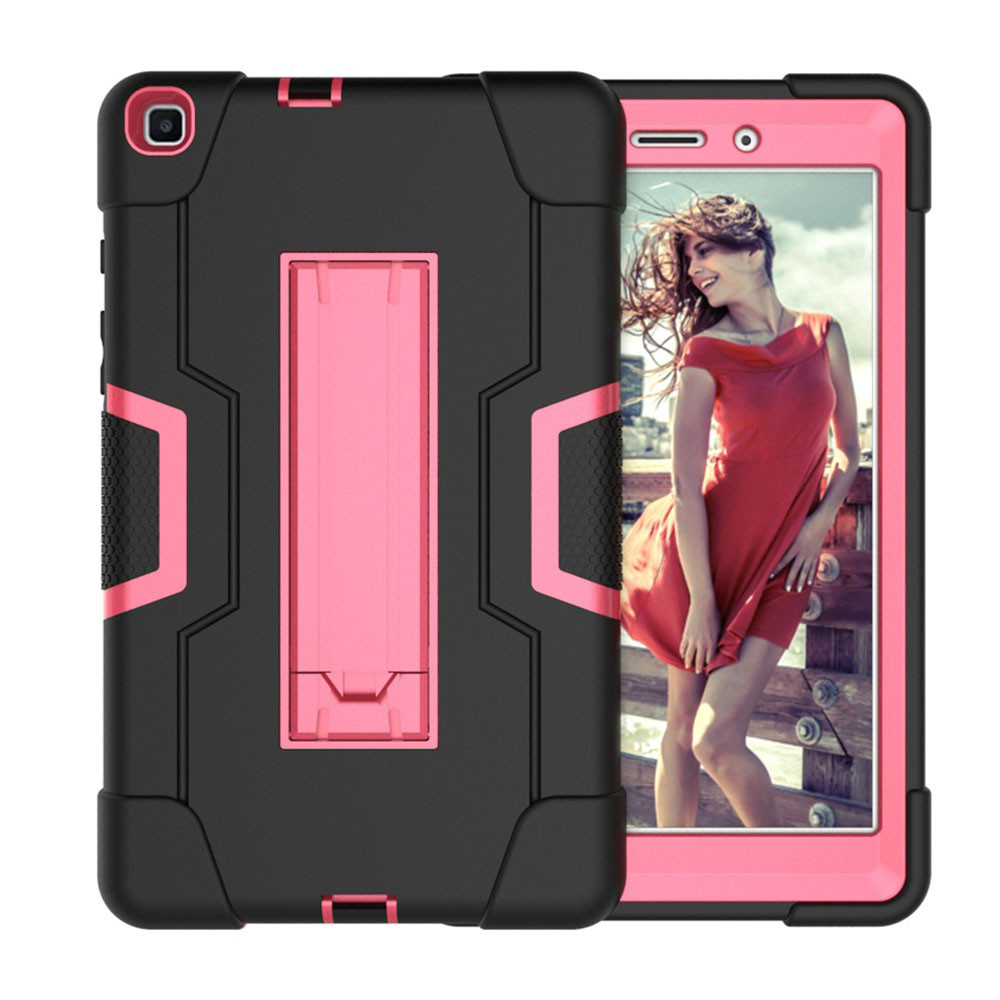 3 In 1Tablet Case Shock-Proof Kids Safe Silicon Hybrid Stand For Samsung Galaxy Tab A 8.0 SM-T290 SM-T295 Protective Case 20J6