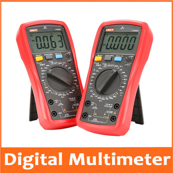 Digital Multimeter True RMS Manual Range AC DC Frequency Capacitance Temperature Tester Backlight