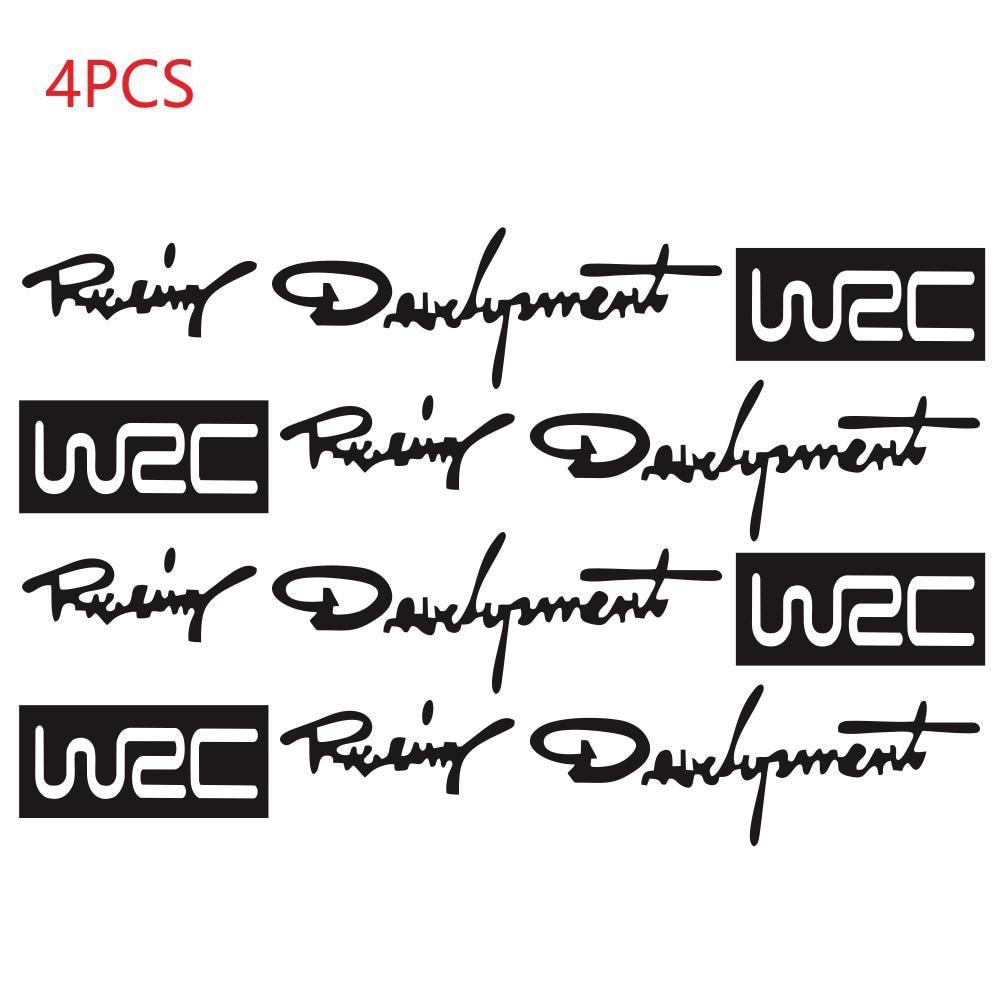4Pcs/set Auto Decals Stickers Car Door Handle Vinyl Car Body Decals Motorcycle Sticker Decoration