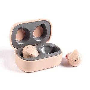 Image 4 - KINERA YH623 Mini Bluetooth 5.0 w uchu Monitor słuchawki TWS bezprzewodowy HIFI redukcja szumów słuchawka basowa gra sportowa IEM z mikrofonem