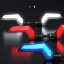 Spirit Beast moto LED indicatore di direzione lampada 12V Motocross lampeggiatore indicatori lampeggianti per dirt bike fz8 z900 ltz 400 mt 07