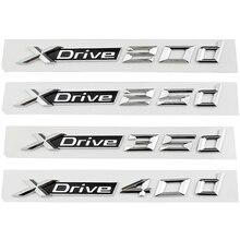 Стайлинг автомобиля, 3d наклейка, Задняя эмблема багажника для BMW X1 X2 X3 X4 X5 X6 Z3 M5 M6 Xdrive 20d 25d 35d X Drive 40d GT