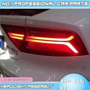Image 2 - Auto Accessoriestail Licht Voor Audi A7 Achterlichten 2011 2017 Led achterlicht Achterlicht Moving Richtingaanwijzer achterlicht