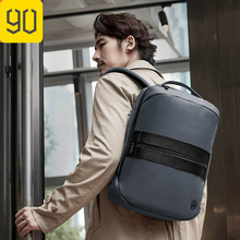 90FUN Men Manhattan Business Casual Backpack Male 15.6 inch Laptop Bag Nylon Waterproof Teenager Travel Mochila