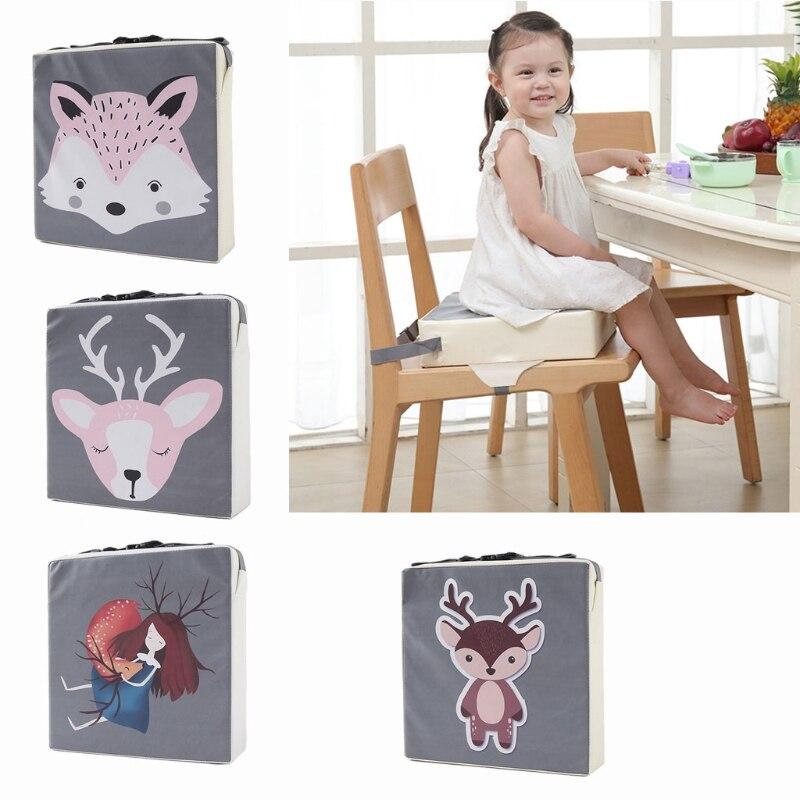 Children Increased Chair Pad Baby Dining Cushion Highchair Chair Booster Cushion N7ME