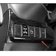 For Mitsubishi Outlander 2016 Headlight Lamp Switch Button Frame Cover Center Console Interior Trim Styling Garnish(China)