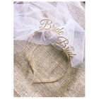 Bride To Be Veil Hen...