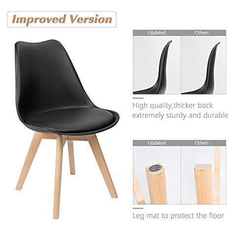 A set of 4 Retro Style Dining Chairs 4