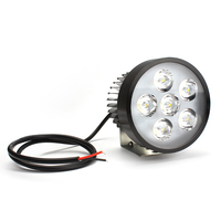 Leepee 18W Universele 12V 80V Motor Led Licht Koplamp Werken Licht Wit Motorfiets Accessoires Lamp