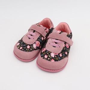 Image 2 - Детские кроссовки TipsieToes, модные тканевые сшитые кроссовки для мальчиков и девочек, весна 2020
